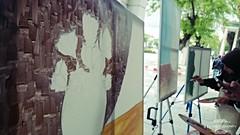 Painters (khaled zouaoui photography) Tags: art outside drawing painters