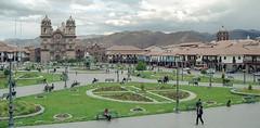 Peru : Cuzco #9 (foto_morgana) Tags: building peru southamerica cuzco cathedral outdoor iglesia nikoncoolscan analogphotography plazadearmas analogefotografie vuescan travelexperience photographieanalogue