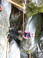 P1120425 (Mountain Sports Alpinschule) Tags: blue mountain sports lagoon canyoning zillertal zemmschlucht alpinschule