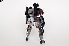"EVCS-CS02 ""Venatio"" Mass-Production Stealth System (ExclusivelyPlastic) Tags: robot lego ninja military scifi stealth mecha mech"