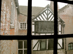 The oldest nook (vintage vix - Everything is a miracle) Tags: tudor lancashire halftimbered astleyhall