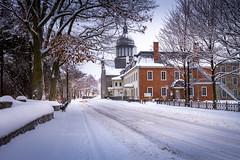 2016Fev-Vieux TR-4 (jdbrochu) Tags: photographie hiver troisrivieres ville clocher laneige pleinair batisse vieuxtroisrivieres paysageetnature