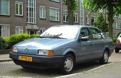 1990 Volkswagen Passat 1.8 CL (rvandermaar) Tags: vw volkswagen 18 passat cl 1990 volkswagenpassat b3 vwpassat passatb3 vwpassatb3 sidecode4 volkswagenpassatb3 yy16jj