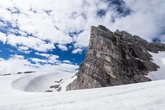 July on Dachstein (AT) (!Jan!) Tags: snow cold rock clouds iceberg gletscher dachstein