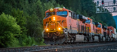 2016 - Road Trip - Bonners Ferry Idaho - 3 of 4 (Ted's photos - For Me & You) Tags: railroad nikon tracks engine railway idaho rails cropped vignetting bnsf freighttrain 2016 tedmcgrath tedsphotos nikonfx nikond750 bannersferry bannersferryidaho