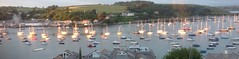 River Helford Falmouth (flowergirlaaa) Tags: sunset river boats evening cornwall estuary yachts falmouth moorings ipad
