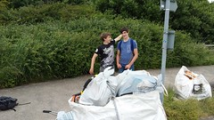20160623_124234 (Keep Wales Tidy) Tags: bridge summer up coast marine severn clean litter learning monmouth welsh care baccalaureate caldicot rogiet welshcoastalpathcleanup
