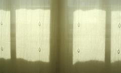 Life Behind A Linen Curtain (Robert Saucier) Tags: newyorkcity shadow newyork window manhattan curtain ombre fentre rideau img2277