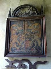 Tilney, All Saints - Norfolk (Glass Angel) Tags: church norfolk royalarms tilneyallsaints