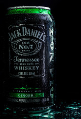 Old No.7 (Edwin M. Glez) Tags: wet studio publicidad drink whiskey can werbung product humedo producto produkt feucht advertishing