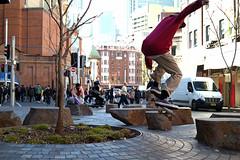 Haymarket Skater (Francis Johns) Tags: chinatown sydney skateboard skater haymarket samsungnx30mmf2