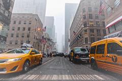 It begins to snow in NY (pat.thom974) Tags: city usa snow ny