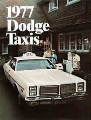1977 Dodge Taxis (aldenjewell) Tags: 1977 dodge taxis brochure monaco