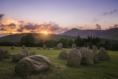 Castlerigg Stone Circle (Kieron Adams) Tags: sunset stone circle cumbria keswick castlerigg