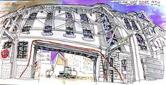Seule la facade reste - rue Saint Didier, Paris (velt.mathieu) Tags: