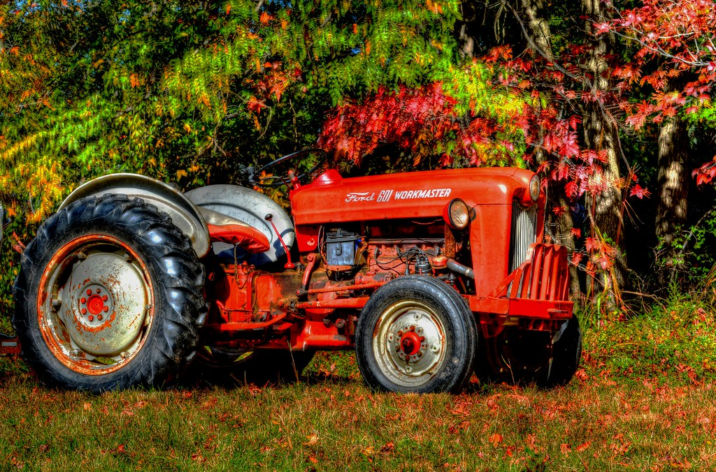 1956 Ford Tractor : The world s best photos of tractor and workmaster flickr