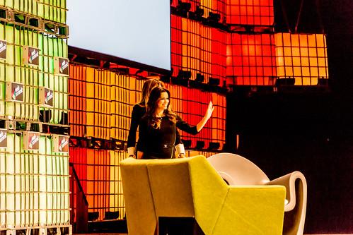 Desperate Housewives Actress Eva Longoria At Web Summit 2014 Ref-1017