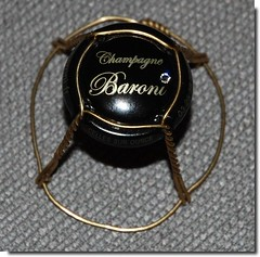 "Champagne Baroni muselet capsule swarovski • <a style=""font-size:0.8em;"" href=""http://www.flickr.com/photos/55864099@N00/15216867043/"" target=""_blank"">View on Flickr</a>"