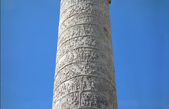 Trajan's Column, looking up