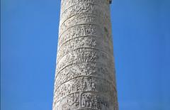 Trajan's Column, looking up