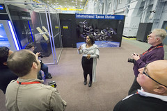 Camille Alleyne, Ed.D., Assistant Program Scientist for the International Space Station (ISS) at NASA JSC Houston