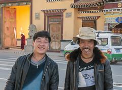 Pilgrims, Rongwo monastery Rebgong-Tongren (newmansm) Tags: china tibet monastery amdo tongren rebgong rongwo