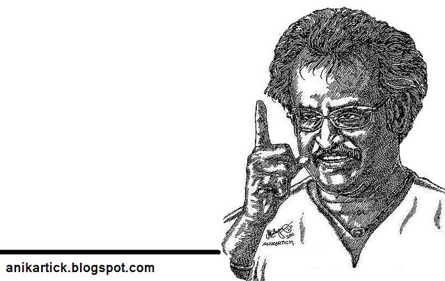 RAJINIKANTH - Superstar of Indian Cinema Industries - Art - Artist ANI,Chennai,TamilNadu,India