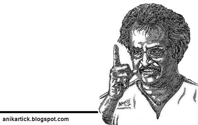 RAJINIKANTH - Superstar of Indian Cinema Industries - Art - Artist ANI,Chennai,TamilNadu,India