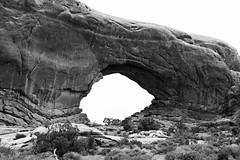 North Window Arch (Ian E. Abbott) Tags: utah sandstone arches archesnationalpark rockformations northwindowarch