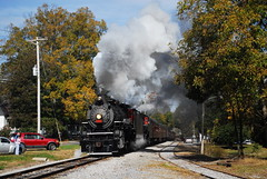 TVRM 300 11/8/14 Pic 1 (tjtrainz) Tags: railroad fall museum train ga georgia lafayette tennessee engine railway steam special cc valley passenger 300 630 excursion chickamauga 280 chattooga 282 doubleheader 4501 tvrm
