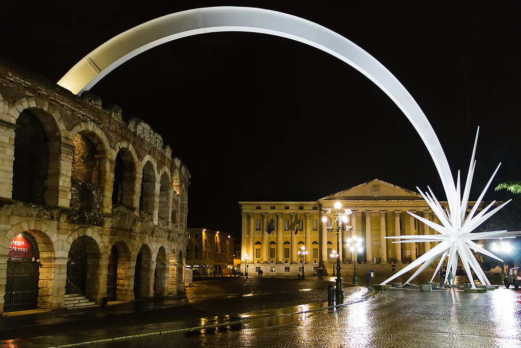 Stella Di Natale A Verona.The World S Best Photos Of Arena And Natale Flickr Hive Mind