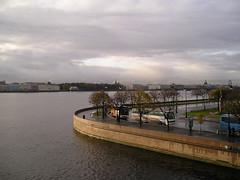 The Banks of the Neva (MuzTrem) Tags: stpetersburg russia cruiseraurora riverneva