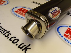 MTC Motorbike Exhausts Black tri-oval (Max Torque Cans Motorbike Exhausts) Tags: mtcmotorcycleexhausts maxtorquecans exhaust coloured stainless titanium carbon round oval trioval standard gppro singleoutlet twinoutlet loud pipes save lives loudpipessavelives motorcycle motorbike mtc roadlegal race baffle ukmade bsastrap bespoke affordable motor bike max torque cans deciblekillers removeable decat awesome gobigorgohome httpmaxtorquecanscom