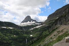 Glaciers in the Distance (bbosica20) Tags: sky snow mountains nature landscape montana rocks glacier pines waterfalls glaciers glaciernationalpark forests glaciernp 2014 bigskycountry july2014