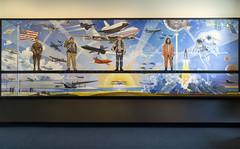 """Robert T. McCall """"Centennial of Flight"""" mural"""