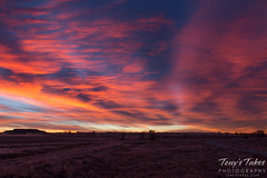 Sunrise at the Rocky Mountain Arsenal National Wildlife Refuge