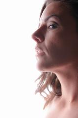 Nikki (vintagecameras) Tags: lighting beautiful beauty pose studio high model nikon key headshot boise highkey softbox d300