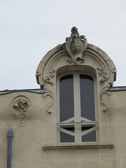 Villa (1904) - 13 rue Cuvilliers, Saintes (17) (Yvette G.) Tags: architecture artnouveau 17 saintes belleépoque charentemaritime poitoucharentes
