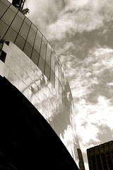Birmingham New Street (Chilanga Cement) Tags: clouds reflections reflecting birmingham fuji