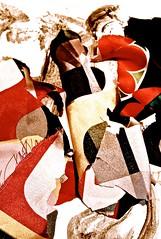 "DSC_3743, ""bailando tangones""* (THE ART OF STEFAN KRIKL) Tags: originalart collages posters baile theartofstefankrikl tangones"