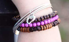 Glimpse of Malibu Purple Bracelet K2 P9613A-3