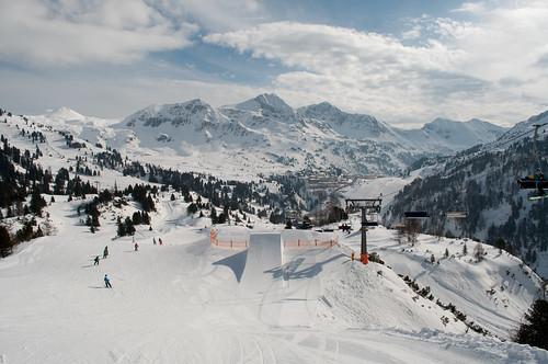 Piste 6a Looking Towards Obertauern