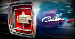 Custom Blue (Todd Evans) Tags: auto ford car automobile olympus 1966 custom omd m43 em10 custom500 worldcars microfourthirds mariettastreetfest hubcapsandhistory