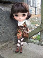 Ella at the old cloister