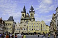 Iglesia de Nuestra Señora en frente del Týn (jflores_cl) Tags: europa prague praha praga viajes turismo vacaciones repúblicacheca 2011