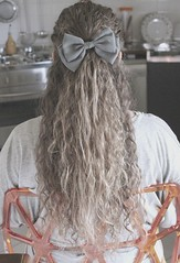 Crazy in love with hair bows. #hair #myhair #curlyhair #curls #wildlocks #halfuphalfdown #hairstyle #blonde #sortof #hairbows #gray #hairbow #bigbows  #claires #cartoongal (Sara_Corona) Tags: hair gray curls blonde hairstyle curlyhair claires myhair sortof hairbow hairbows bigbows halfuphalfdown wildlocks cartoongal