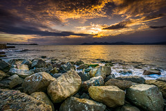 Cannes Palm beach, France (totofffff) Tags: street sunset france beach alpes french soleil riviera angle cannes sony wide palm uga 1018 sel maritimes couch esterel mditerrane 10mm a6000 cloudsstormssunsetssunrises