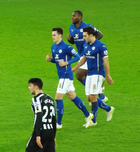 Leicester celebrate
