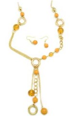 Sunset Sightings Yellow Necklace P2910A-5