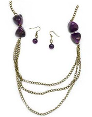 Glimpse of Malibu Purple Necklace K1A P2410A-5